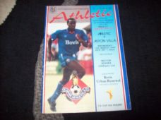 Oldham Athletic v Aston Villa, 1989/90 [FA]